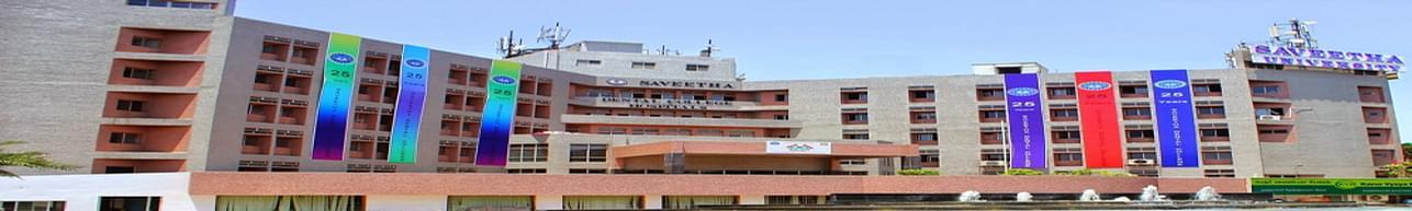 Saveetha College of Nursing - [SCON], Chennai