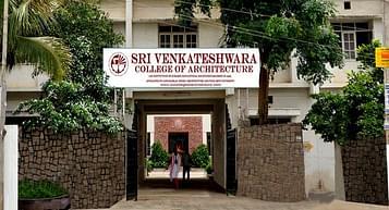 Sri Venkateswara College of Architecture - [SVCA], Hyderabad