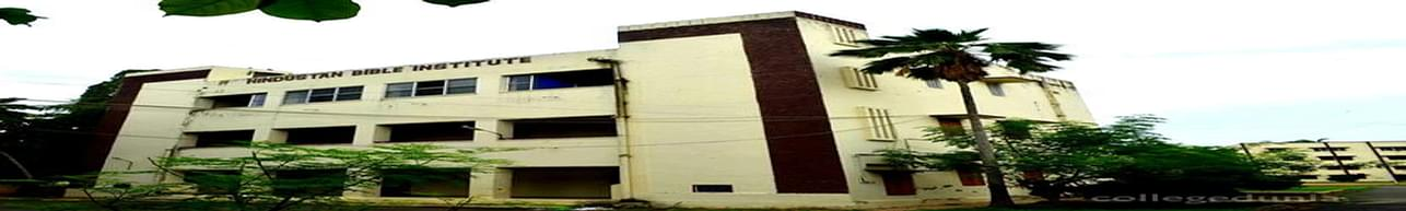 Hindustan Bible Institute - [HBI], Chennai - List of Professors and Faculty