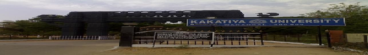 Kakatiya University, School Of Distance Learning And Continuing Education - [SDLCE], Warangal