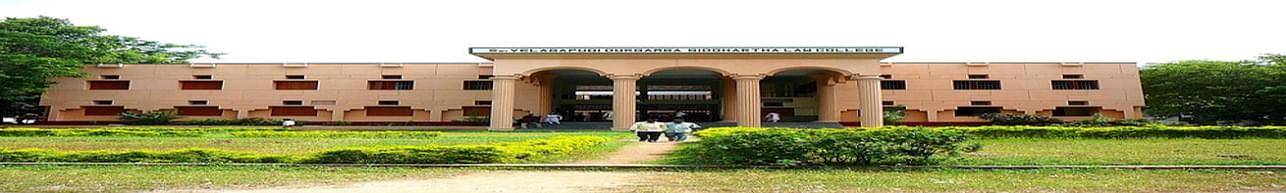 Smt Velagapudi Durgamba Siddhartha Law College, Vijayawada