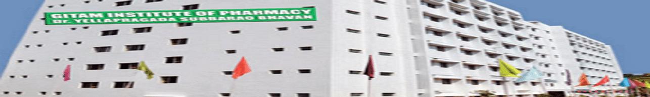GITAM Institute of Pharmacy - [GIP], Visakhapatnam - Course & Fees Details