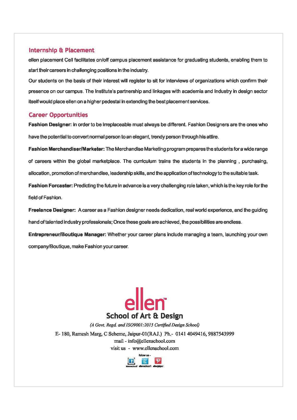 Ellen School Of Art Design Jaipur Admissions Contact Website Facilities 2020 2021