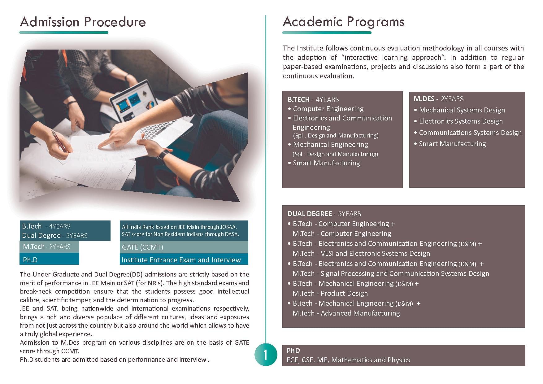 Iiitdm Kancheepuram Courses Facilities Result Admission