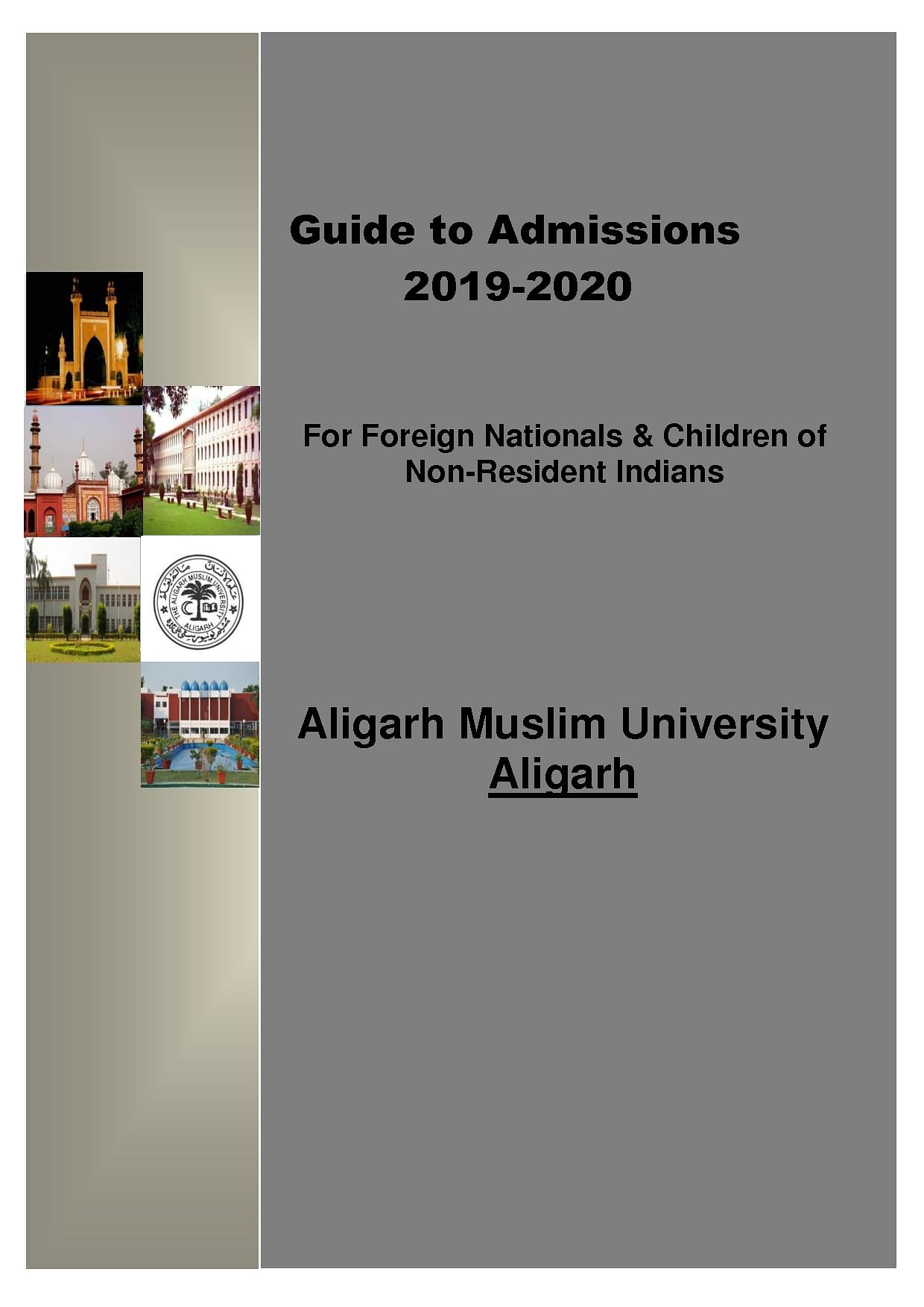 Aligarh Muslim Univeristy Amu Admission 2020 Courses Fees Placement Ranking