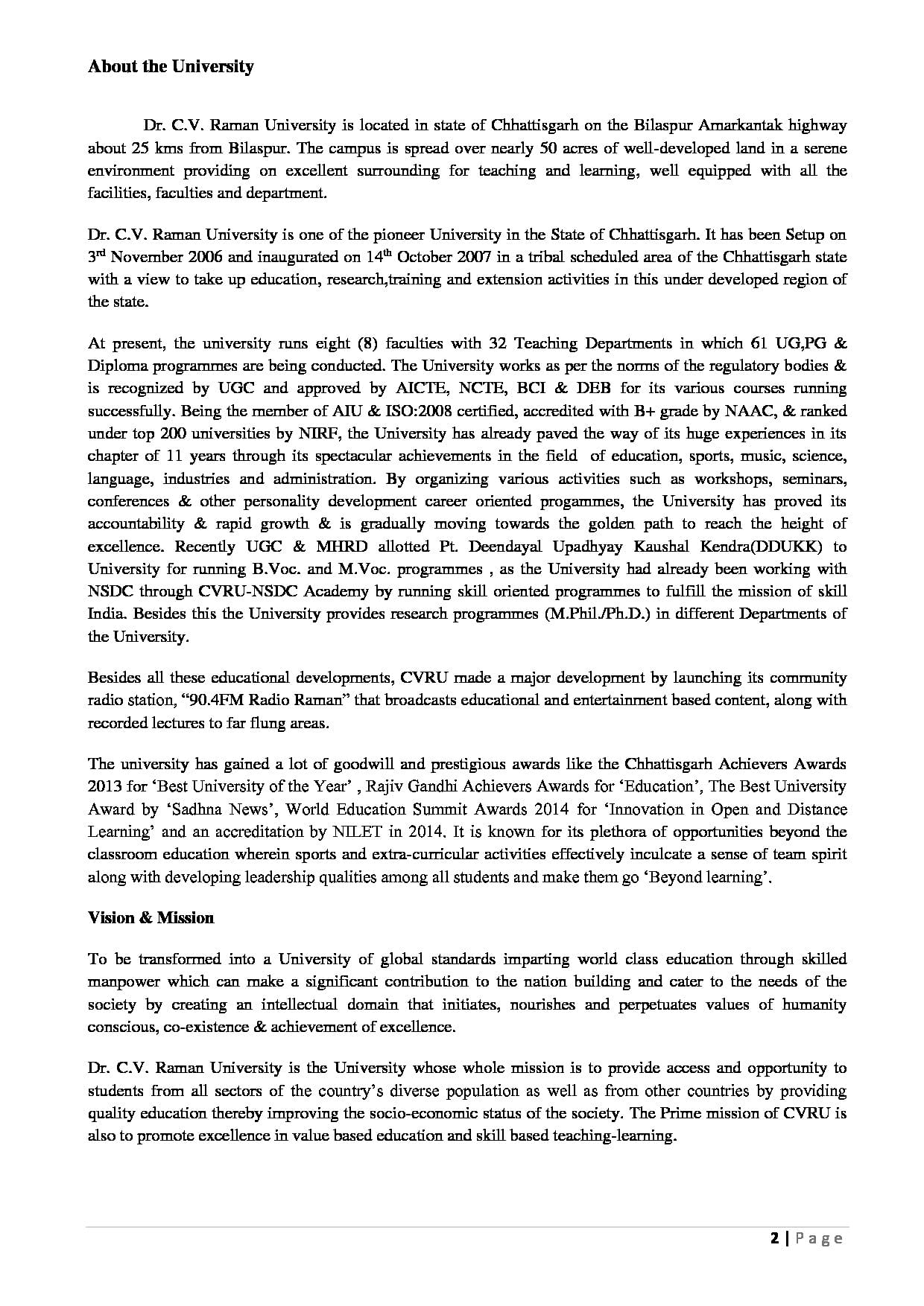 Knowledge and experience essay