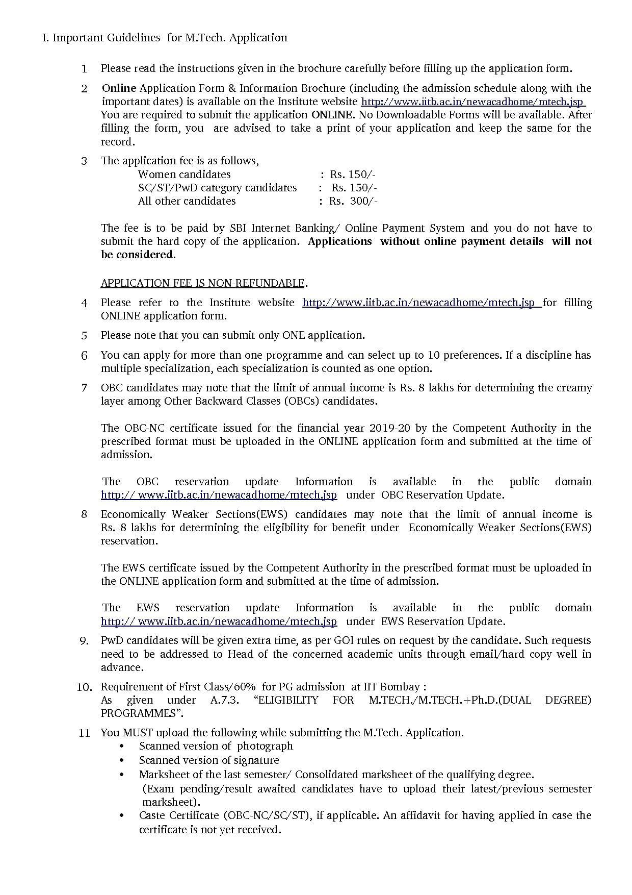 Iit Bombay Admission 2020 Ph D M Tech B Tech M Des Registrations Cutoff Shortlist