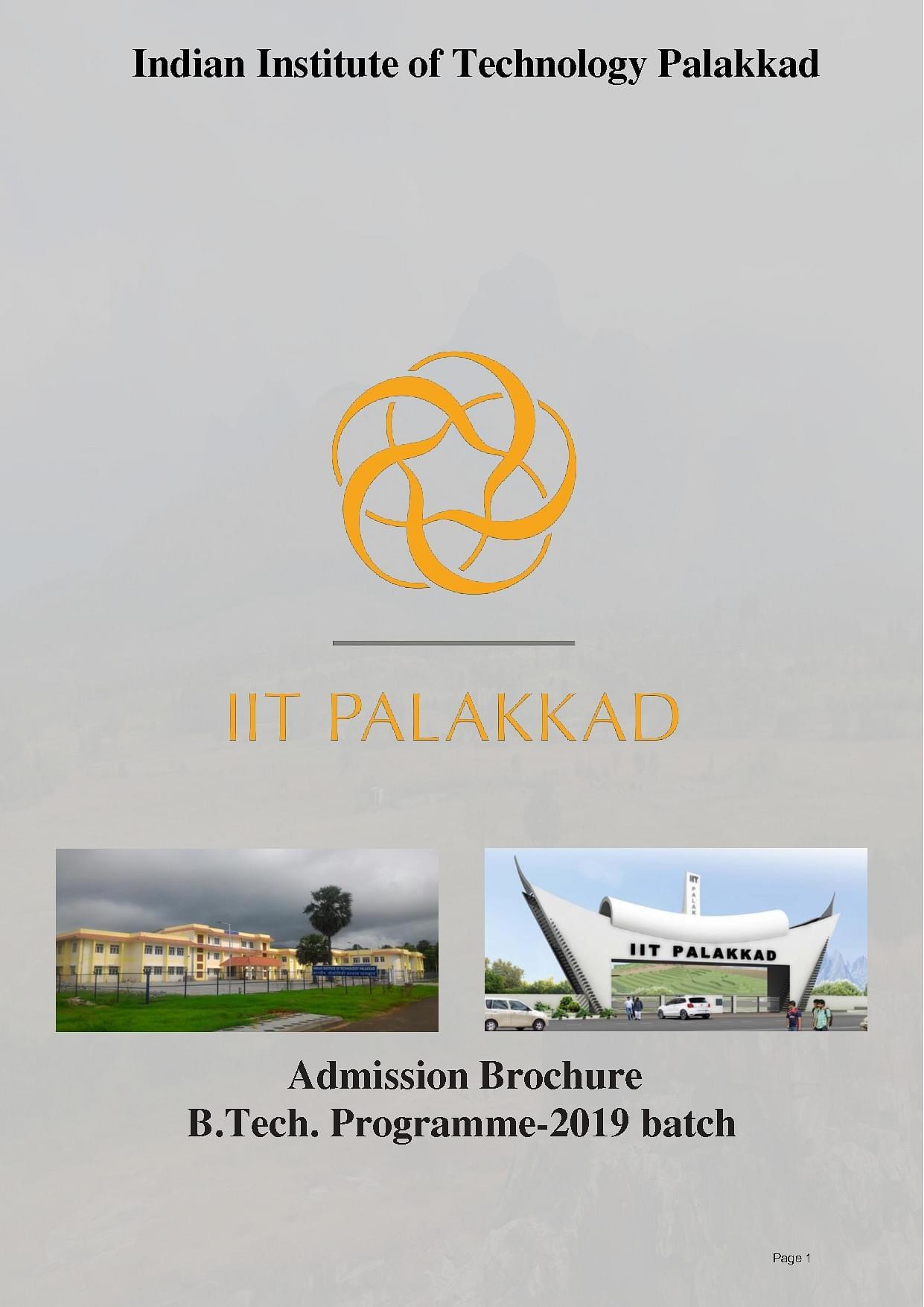 Iit Palakkad Admission 2020 Admission Criteria Cut Off Eligibility Ranking